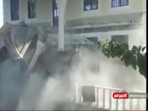 تخریب ویلاهای غیرمجاز در ملارد