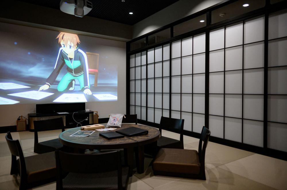 هتل انیمیشنی ژاپن