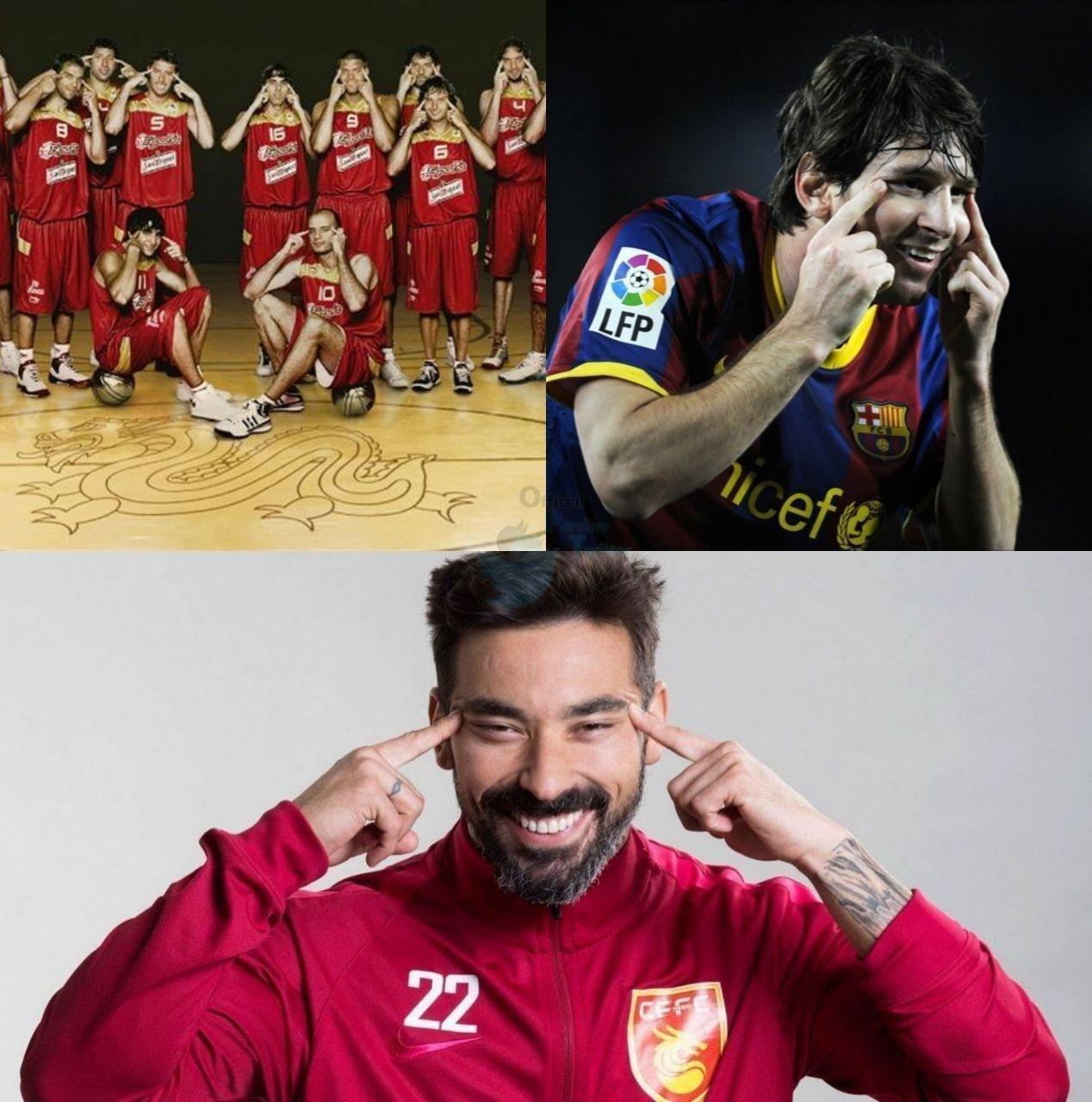 تقلید آل کثیر از مسی و تیم ملی بسکتبال اسپانیا!