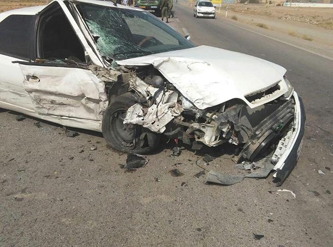 تصادف زنجیرهای با یک کشته و 4 مجروح