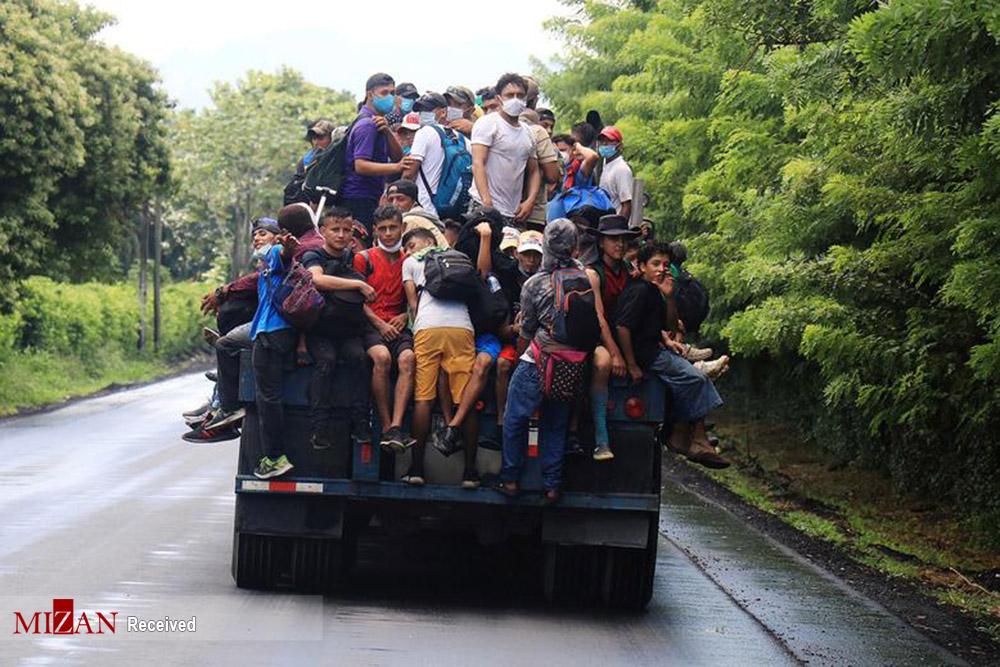 ورود هزاران مهاجر غیر قانونی به مرزهای گواتمالا