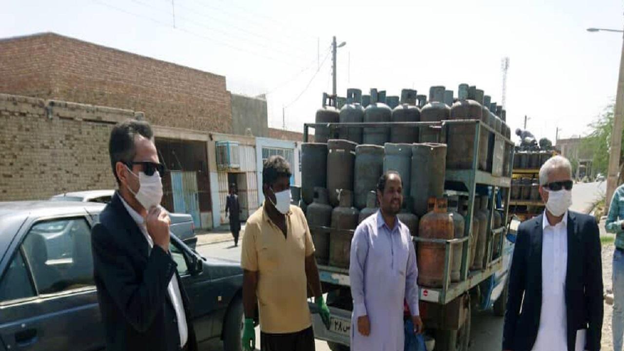 توزیع گاز مایع در ایرانشهر به روال عادی بازگشت