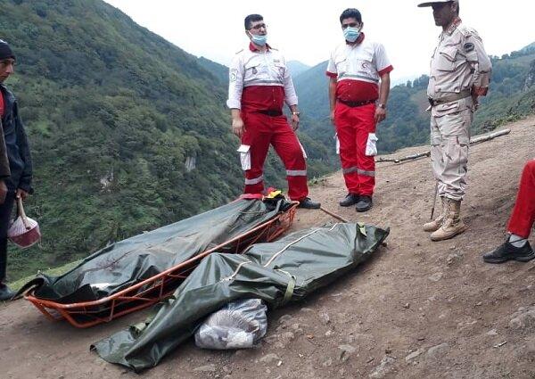 فوت ۲ برادر در آستارا بر اثر سقوط به دره