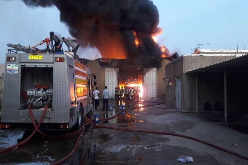 انفجار در شهرک صنعتی شهرضا جان یک جوشکار را گرفت