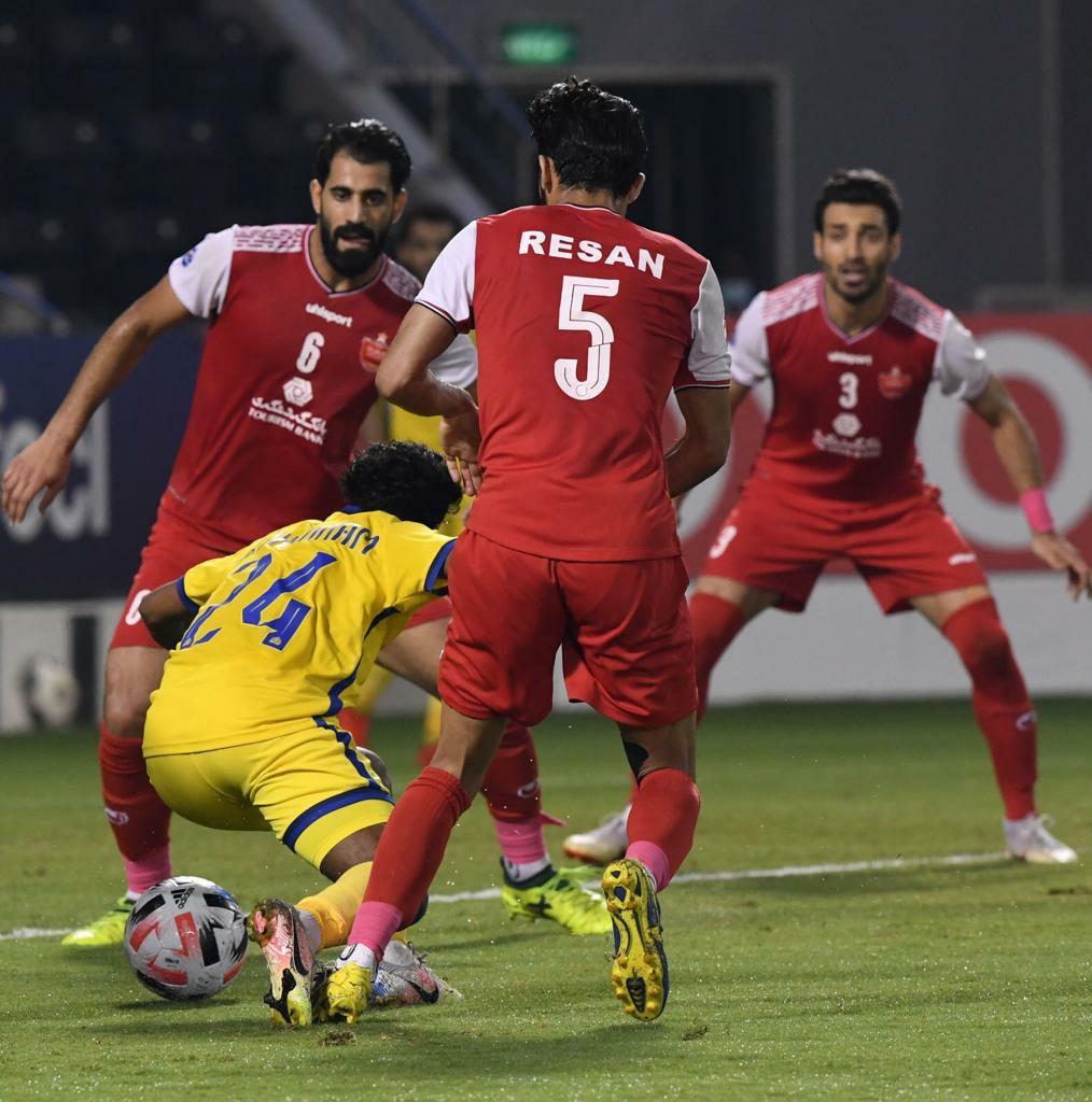پنالتي النصر در VAR فاديالاسعد