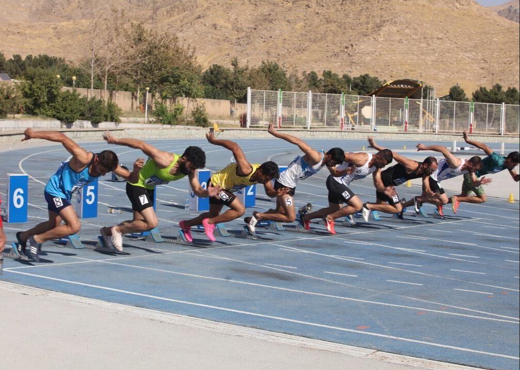 دونده کرمانی طلای 100 متر کشور را کسب کرد