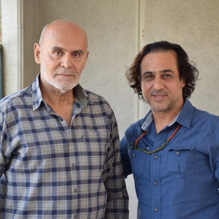 چهره ها/ رامين راستاد در کنار عاليجناب جمشيد هاشمپور