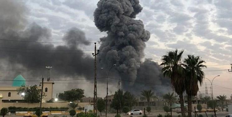 صابریننیوز: جنگندههای آمریکایی منطقهای نزدیک به پایگاه حشد شعبی را بمباران کردند