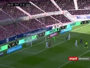گل اول رئال مادرید به بارسلونا توسط فدریکو والورده در دقیقه 5