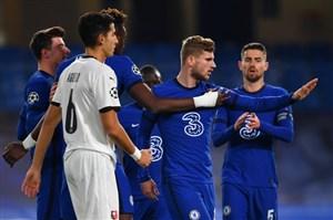 چلسی 3 - 0 رن؛ آبی ها در اروپا بی رحمند