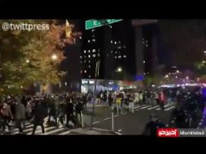 طرفداران بایدن سرخوش از پیروزی به خیابانهای نیویورک آمدند