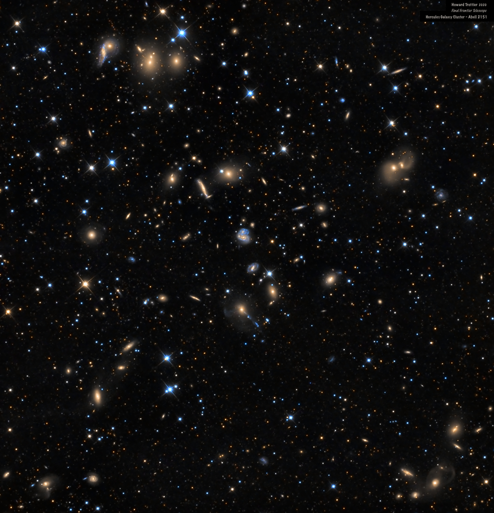 نگاهی به کهکشانهای هرکول