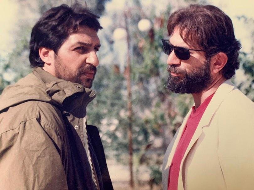 چهره ها/ عکس قدیمی آتیلا پسیانی و محمد صالح علاء