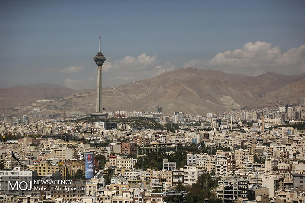 کیفیت هوای تهران در وضعیت سالم