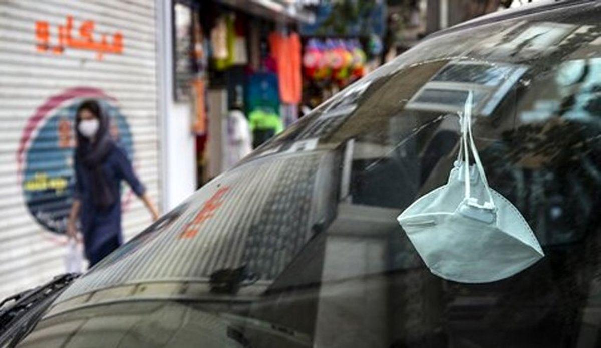 جریمه عدم استفاده از ماسک در خودروها به کرج رسید