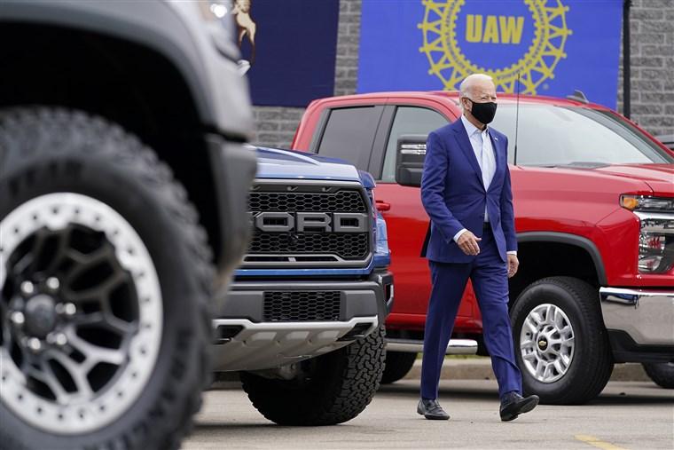 جو بایدن؛ رئیس جمهور ماشین باز