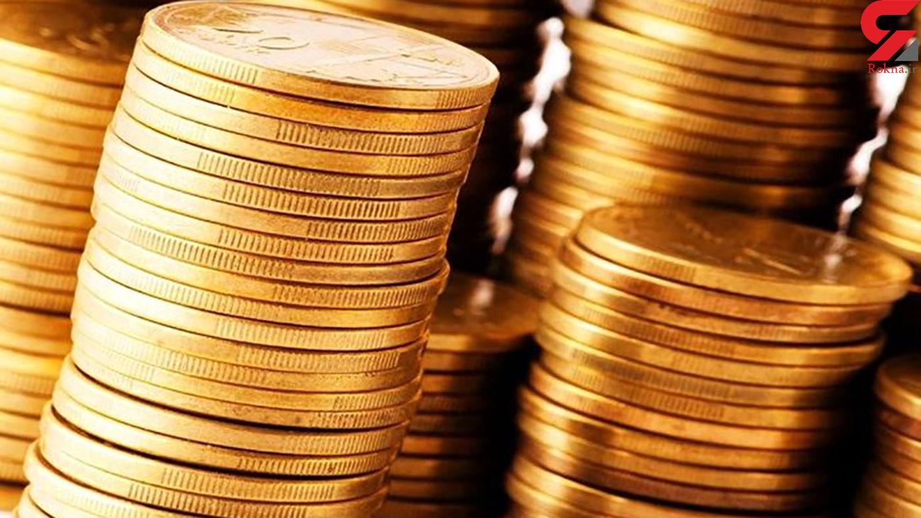 قیمت سکه و طلای 18 عیار امروز