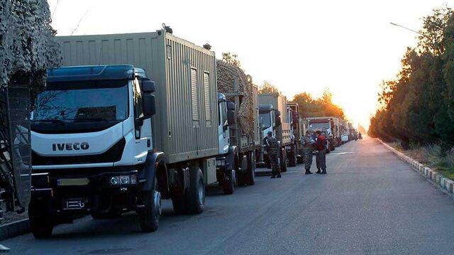 یگان واکنش سریع ارتش به نواحی مرزی شمال غرب اعزام شد