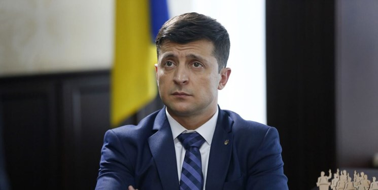 رئیس جمهور اوکراین به کرونا مبتلا شد