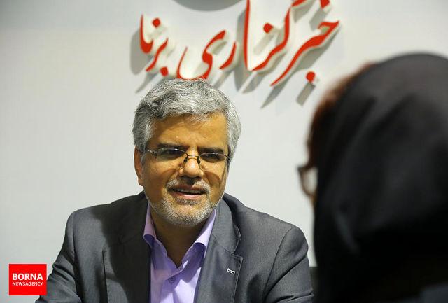 محمود صادقی از محل ستاد انتخاباتی نمایندگان مجلس رونمایی کرد