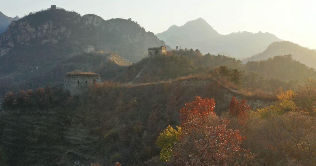مناظر پاییزی دیوار چین