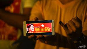 حزب سوچی در میانمار مدعی پیروزی در انتخابات پارلمانی شد
