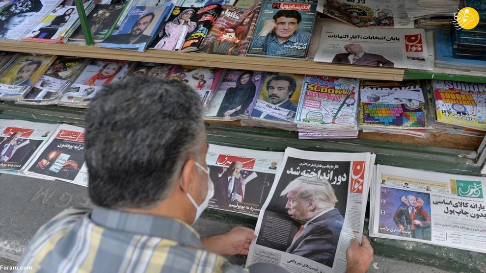 گزارش رسانه خارجی از ایران پس از پیروزی بایدن