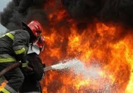 مهار آتشسوزی در انبار یک کارخانه در یزد