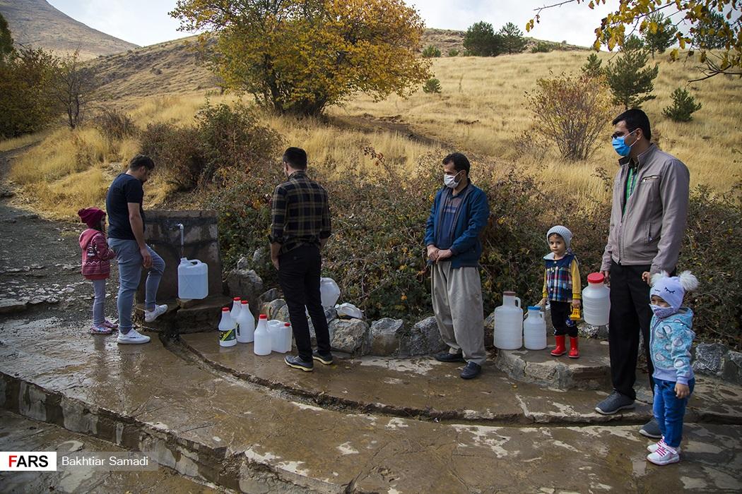 عکس/ آب شرب با بوی نامطلوب در استان کردستان