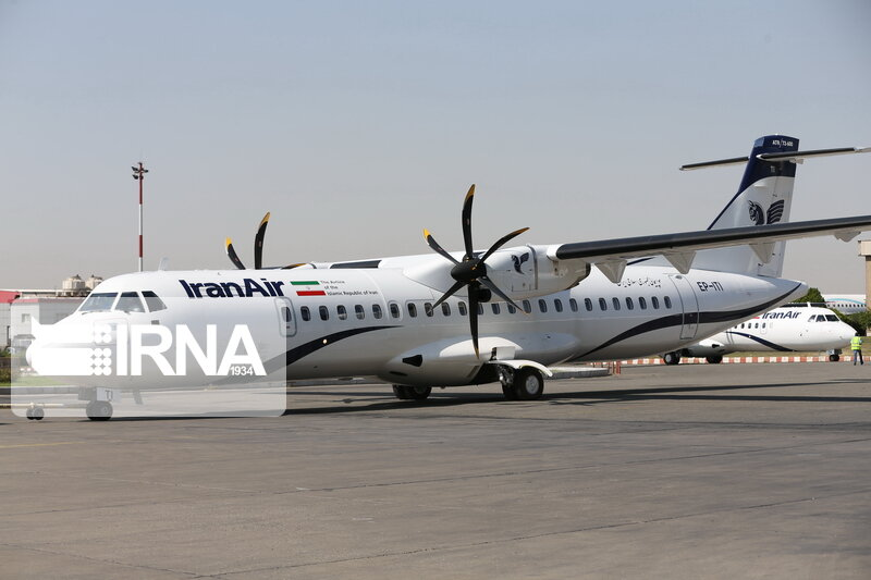 آتش سوزی موتور هواپیمای ATR ایران ایر تکذیب شد