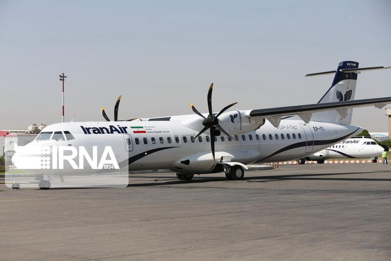 ایرانایر، آتش سوزی موتور هواپیمای ATR را تکذیب کرد
