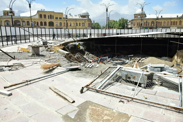 آغاز مجدد پروژه سایتموزه میدان همدان طی روزهای آینده