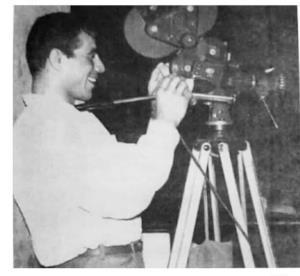 وقتی غلامرضا تختی در سینما فیلمبردار شد
