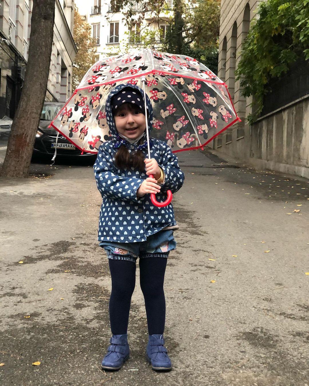 چهره ها/ عکس گوگولی دختر محمدرضا احمدی