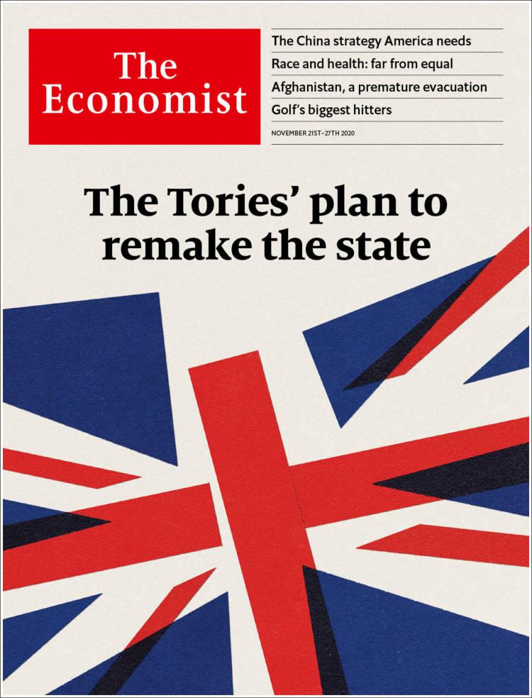 صفحه اول مجله اکونومیست/ طرح محافظه کاران برای بازسازی دولت