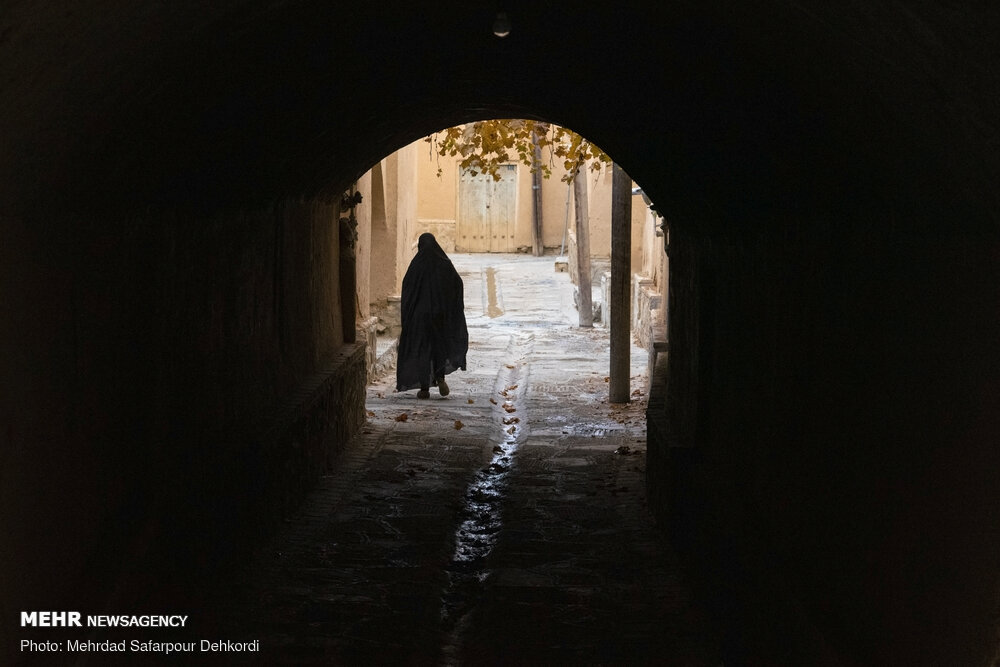 عکس/ «یاسه چای» تنها روستای بدون کوچه ایران