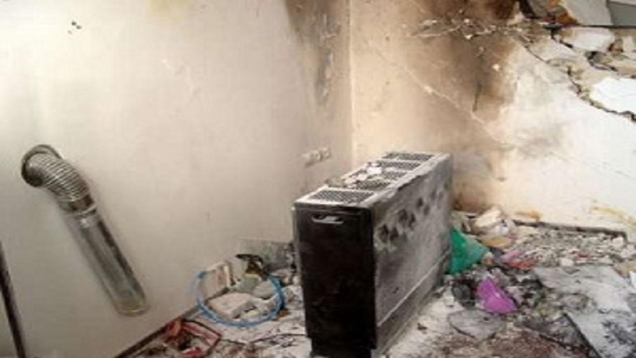 جان باختن جوان ۱۶ ساله بر اثر انفجار گاز در آران و بیدگل