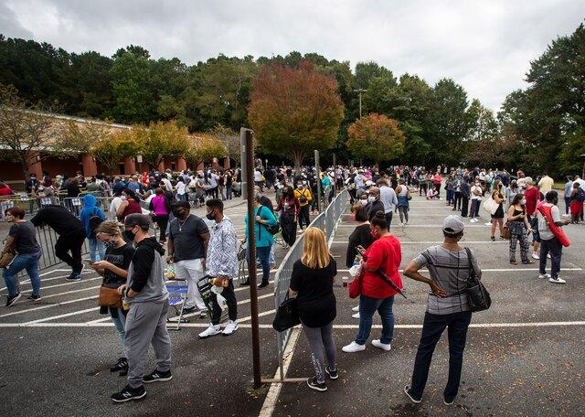 ایالت جورجیای آمریکا پیروزی بایدن را رسما تایید کرد
