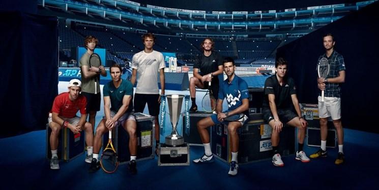 رقابت ۴ تنیسور برتر جهان در نیمه نهایی ATP