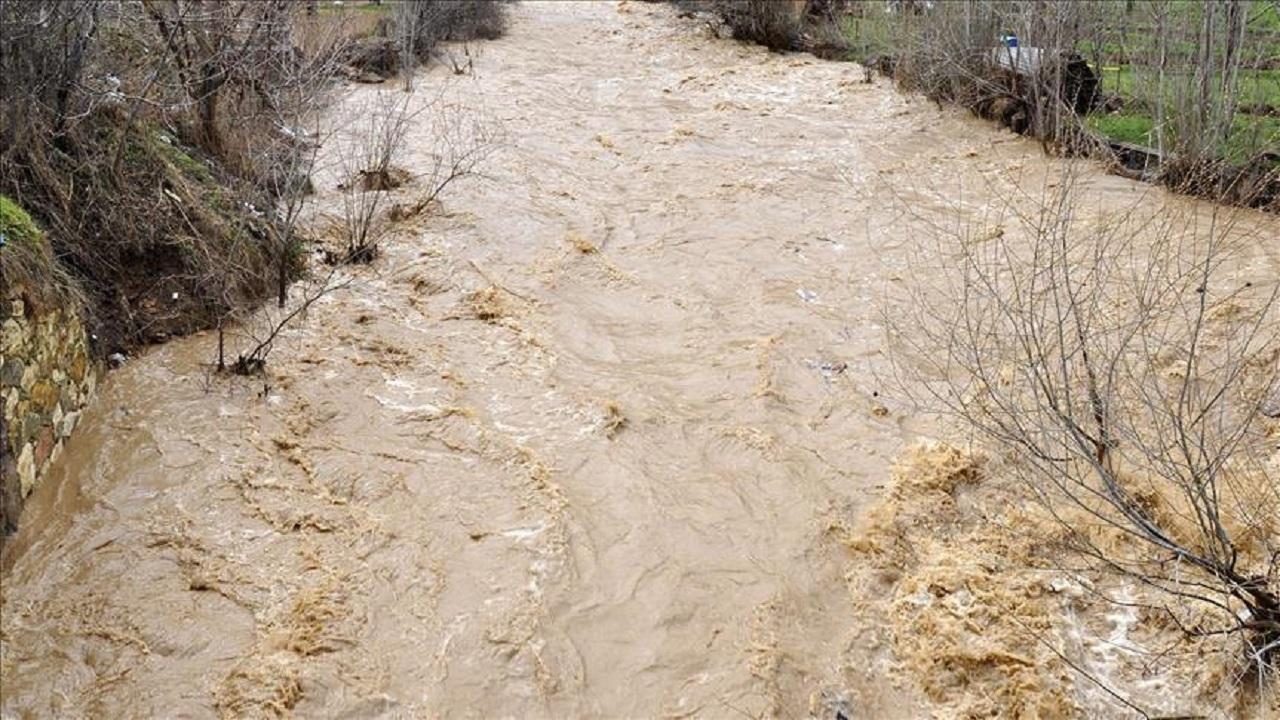 احتمال سیلابی شدن رودخانه ها در البرز