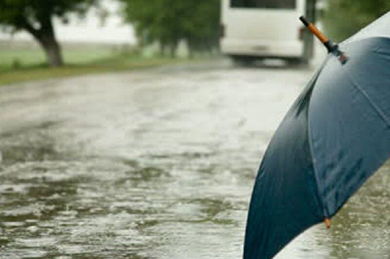فارس بارانی میشود