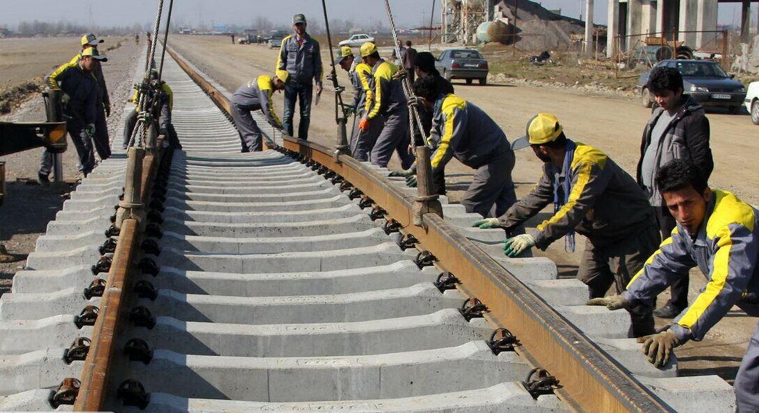 اعتبار راهآهن اردبیل-میانه افزایش یافت