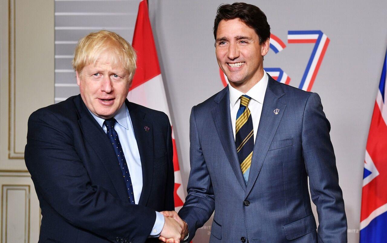 انگلیس و کانادا توافقنامه تجاری امضاء کردند