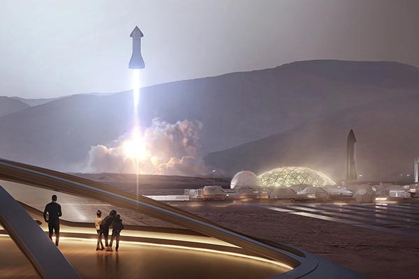 ایلان ماسک: ۱ میلیون نفر تا سال ۲۰۵۰ ساکن مریخ خواهند شد