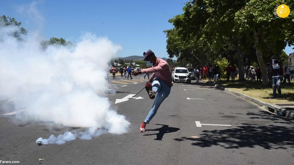 تظاهرات علیه نژادپرستی در آفریقای جنوبی