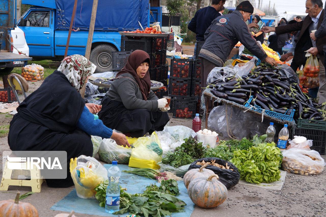 بازارهای هفتگی در شهرهای قرمز مرکزی تعطیل شدند