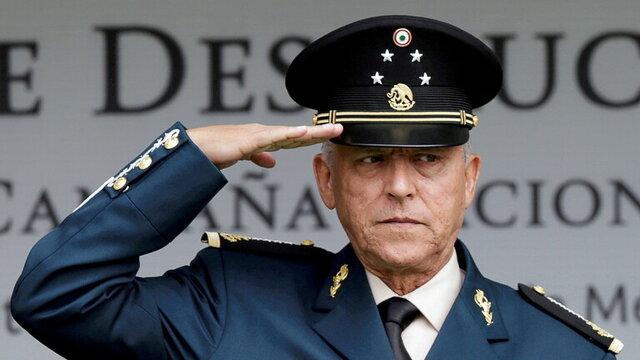 معامله مکزیک با آمریکا بر سر انتقال وزیر دفاع سابقش
