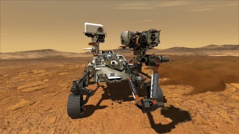 ناسا یک فایل صوتی از سفر مریخنورد «استقامت» در فضا منتشر کرد