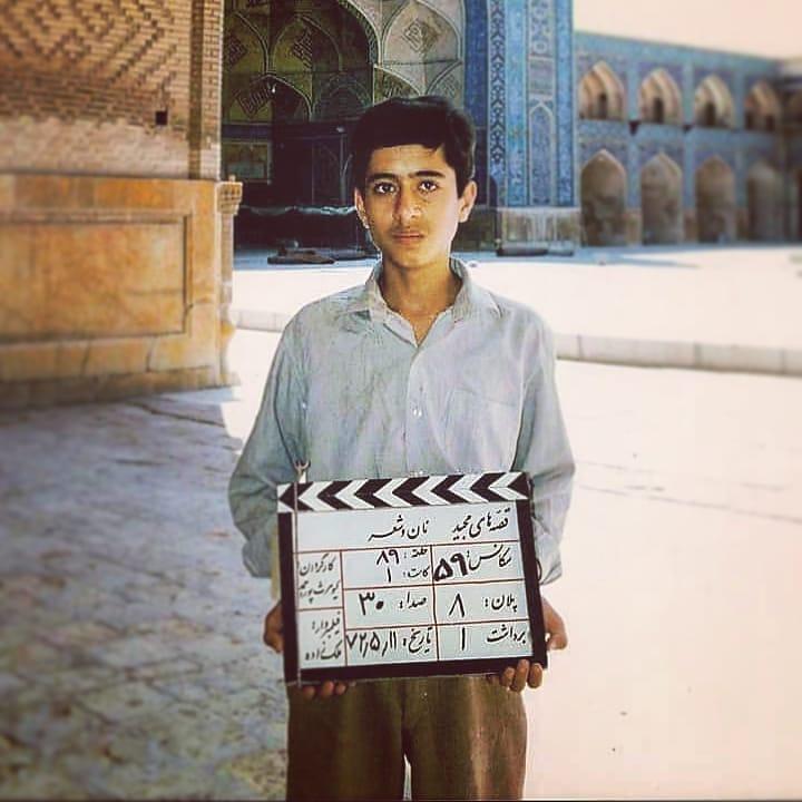 چهره ها/ مهدی باقربیگی 27 سال قبل در پشت صحنه «قصههای مجید»