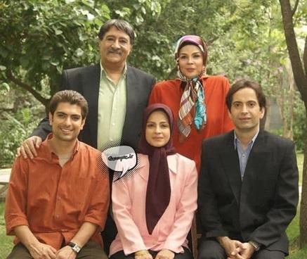 حشمت فردوس و خانوادهاش 11 سال قبل در پشت صحنه «ستایش»